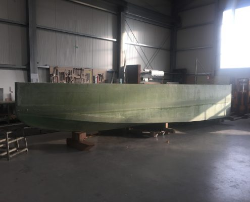 Rumpf 1 Green Water Taxi